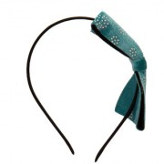 Yashasvis Ambrosial Alloy Turquoise Golden Colored Hair Band for Girls