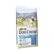 Hrana uscata pentru caini Dog Chow Puppy Large Breed cu curcan 14 kg