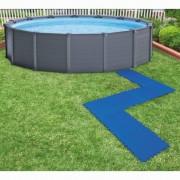 Intex Протектори-подложки за басейни, 8 бр, 50x50 см, сини