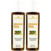 Park Daniel Premium Moringa oil combo of 2 bottles of 100 ml (200 ml)