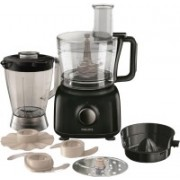 Philips HR 7629/90 650 W Food Processor(Black)