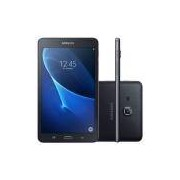 Tablet Samsung Galaxy A T280, Preto, Tela de 7, 8GB, 5MP