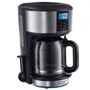Russell Hobbs 20680-56 Buckingham GrindBrew Cafeteira Elétrica 1.5L Inox/Preta