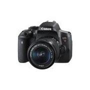 Câmera Canon EOS Rebel T6i com Lente 18-55mm*