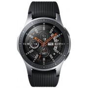 """Smartwatch Samsung Galaxy Watch SM-R800, Procesor Dual-Core 1.15GHz, Circular Super AMOLED 1.3"""", 768MB RAM, 4GB Flash, Bluetooth, Wi-Fi, Bratara silicon, 46mm, Tizen (Argintiu)"""