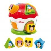 Jucarie de sortat forme Clementoni, Mickey si prietenii lui