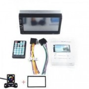 MP5 player auto cu ecran de 7 inch 2 DIN Touch screen mirrorlink Bluetooth rama 2 din si camera marsarier