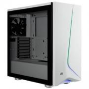 Компютърна кутия Corsair Carbide SPEC-06 RGB (Mid-Tower, White), Tempered Glass, CC-9011147-WW