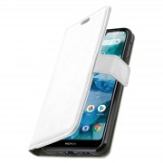 Avizar Custodia Nokia 7.1 Cover Morbida Supporto Video - Bianco