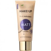 Bielenda Make-Up Academie Matt base de finalização mate para uma cobertura completa tom 1 Natural 30 g