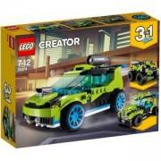 Конструктор Лего Криейтър - Ракетна кола за рали, LEGO Creator, 31074