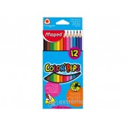 Creioane colorate Maped COLOR`PEPS, 12 buc./pachet