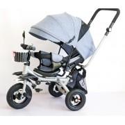 Tricikl Playtime Relax (model 4131 sivi)