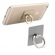 Base Con Soporte Jyx Accesorios Universal Ring Para Celular Premium 360 - Plata