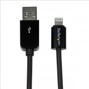 StarTech 8-pin Lightning naar USB 1m zwart