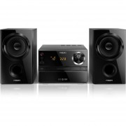 Microcomponente Philips BTM1360 30 Watts Bluetooth Cd Usb Bass Reflex-Negro