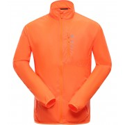 ALPINE PRO BERYL Pánská bunda MJCJ138343 neon pomeranč XL