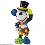 Enesco Disney by Britto Sombrero de Copa Mickey Mouse Figura, 8.07 Pulgadas, Multicolor
