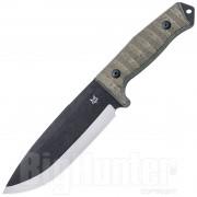 Fox Coltello Fox Knives Bushman Acciaio D2 HRC 59-61 Micarta