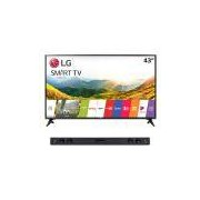 Smart TV 43 LED Full HD LG 43LJ5500 + Soundbar 2.1 300W LG SJ3
