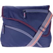 JG Shoppe ABCOS02 Blue Sling Bag