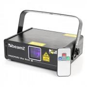Prospero II Show Laser Efeito de Luz 150mW Azul 8-DMX Mestre/Escravo Auto Comando Remoto IV