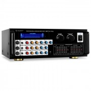 Pro1-Sing Mikrofon-Verstärker PA-Endstufe 600Wmax. Equalizer 2-Zonen