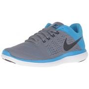 Nike Women s Flex 2016 Rn Running Shoe Cool Grey/Black/Blue Glow/White 8.5 B(M) US