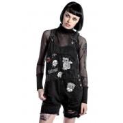 Pantaloni scurti femei KILLSTAR - Jinx Cursed Cutie - Negru - K-BTM-F-2395