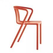 Magis Air-Armchair Stuhl mit Armlehne orange