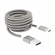 SBOX USB AM-MICRO-15W :: USB кабел, Type A - Micro B, M/M, 1.5 м, бял