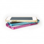 39 iPhone 5 Bumper - metal, Fashion style Pink