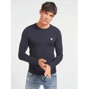 Guess T-Shirt Superstrakke Pasvorm - Blauw - Size: Medium