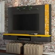 SUPORTE PAINEL TV ATÉ 48 ESTAMPADO - PRETO/YELLOW
