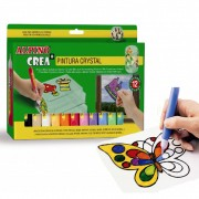 Set pictura copii ALPINO Crea + Crystal Paint