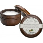 Mondial Luxury Shaving Cream Wooden Bowl 140 ml Tabacco Verde Rasiercreme