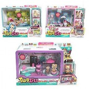 Twozies Two Cool Ice-Cream Cart Two Cool Row Boat and Two Playful Cafe Bundle