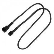 Cablu prelungitor Nanoxia 4-pini PWM, 60cm, Black