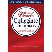 Merriam-Webster's Collegiate Dictionary, Hardcover/Merriam-Webster