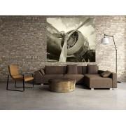 Tablou grand canvas retro airplane - cod Z13