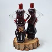 Sticla de vin in forma de femeie LOLA
