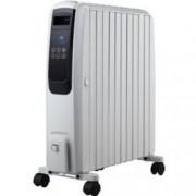 Mаслен радиатор FR-1025T WH, Защита срещу прегряване, LED дисплей, С дистанционно управление, 2500W, сив