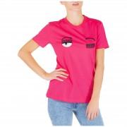 Chiara Ferragni T-shirt maglia maniche corte girocollo donna flirting
