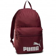 Раница PUMA - Phase Backpack 075487 48 Burgundy/Silver Logo