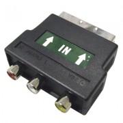 Scart Plug / Phono konektor
