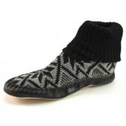 Litha heren pantoffels noors patroon Zwart LIT38
