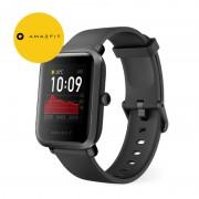 Smartwatch Amazfit BIP S 2020, waterproof, 40 zile autonomie, GPS Sony, Biotracker PPG, bluetooth 5.0, negru