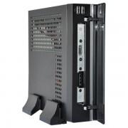 CASE, E-mini 3002, 120W DC/DC + 12V/5A adapter, Mini-ITX chassis, Black (CASEM3002BDC5A)