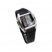 Reloj Casio EFA-124-7A-Negro Con Plateado