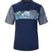 Dakine Tricou pentru bărbați Vectra S/S Jersey Midnight/Painted Palm 10001000-S17 M